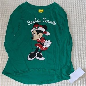 Minnie Mouse Long Sleeve top nwt